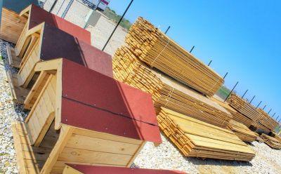Дървени кучешки къщи  - Изображение 1